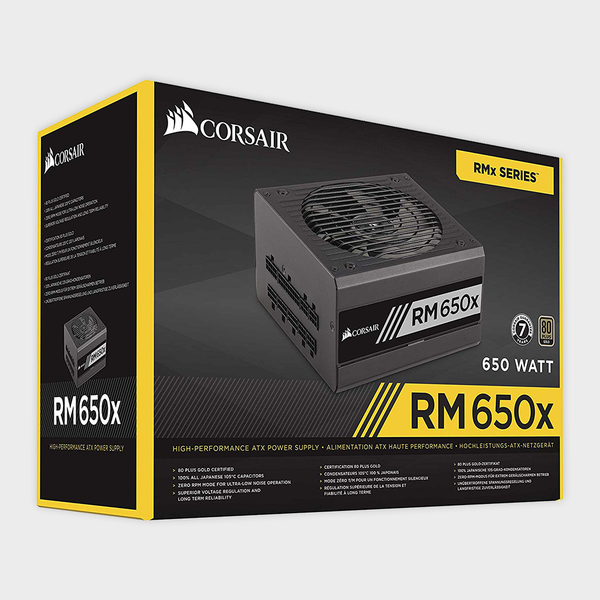 CORSAIR - SMPS (CP-9020091-EU) RM SERIES RM650x 650W 80 Plus Gold PSU