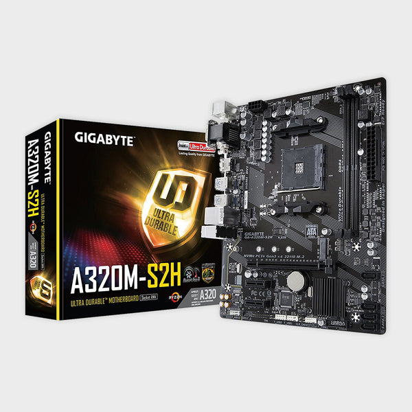 Gigabyte - AMD Socket AM4 GA-A320M-S2H Motherboard