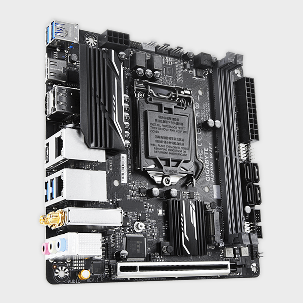 Gigabyte - Intel Socket 1151 H370N WIFI Motherboard