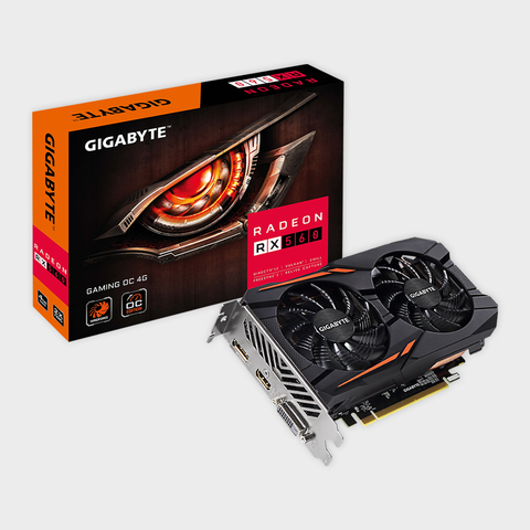 Gigabyte - Radeon RX 560 Gaming OC 4GB Graphic Cards
