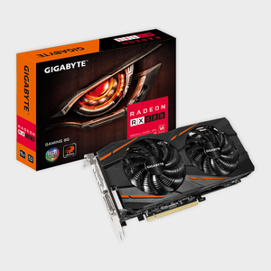 Gigabyte - Radeon RX 580 Gaming 8G 8GB GDDR5 Graphic Card
