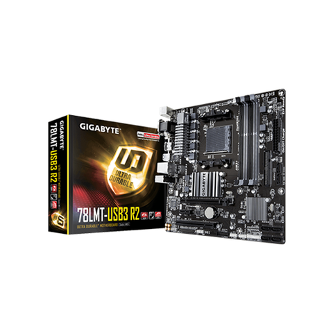 Gigabyte - AMD Socket AM3  GA-78LMT-USB3 R2 Motherboard