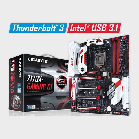 Gigabyte - Intel Socket 1151 GA-Z170X-Gaming G1 Motherboard