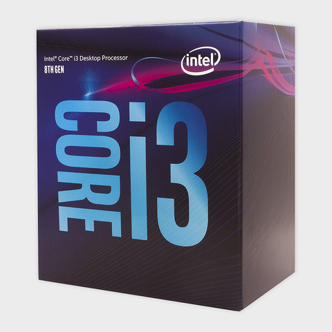 Intel - 8Th Generation I3 8100 processor