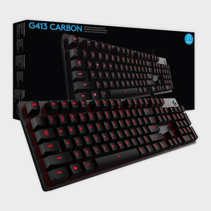 Logitech - G413 Carbon Mechanical Gaming Keyboard