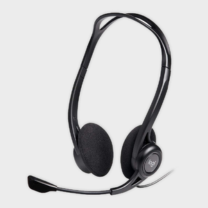 LOGITECH - H370 Premium USB Headset with Volume control Inbuilt