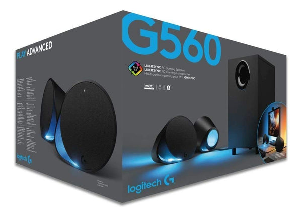 LOGITECH - G560 LIGHTSYNC PC Gaming Speaker