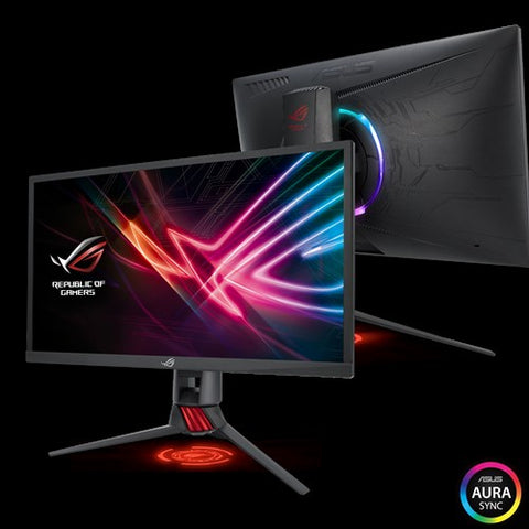 ROG Strix XG248Q Gaming Monitor – 24 inch (23.8 inch viewable) FHD (1920x1080), Native 240Hz, 1ms, G-SYNC Compatible, Adaptive-Sync(FreeSync™), Asus Aura Sync