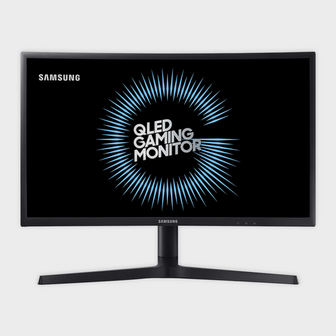 Samsung - 24inch Curved Gaming Monitor (LC24FG73FQWXXL)