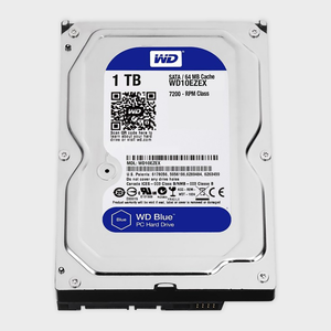 WD - 1TB Internal Hard Drive for Desktop (Blue) (WD10EZEX)