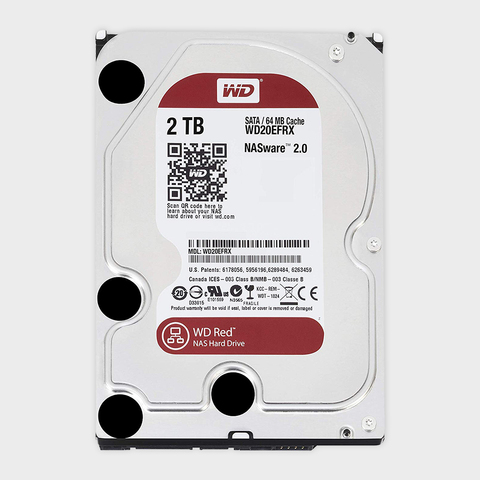 Wd - 2tb red nas hard disk drives (wd20efrx)