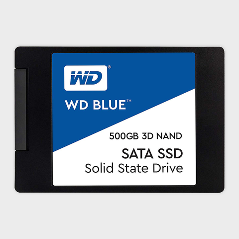 WD - Blue 3D NAND 500GB PC SSD (WDS500G2B0A)