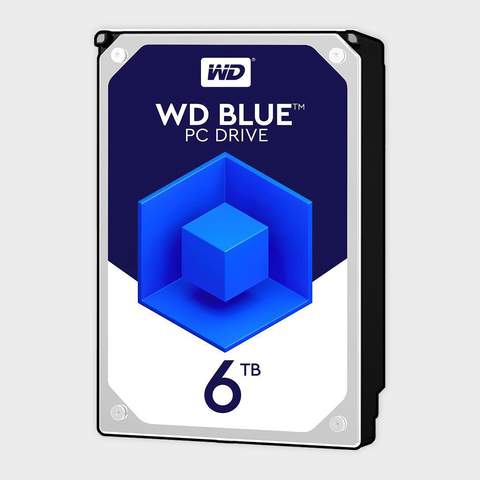 Wd - blue 6tb internal hard drive (wd60ezrz)