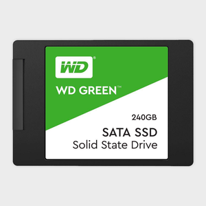 WD - 240GB SATA III 6Gb s 2.5 7mm Internal SSD (Green)