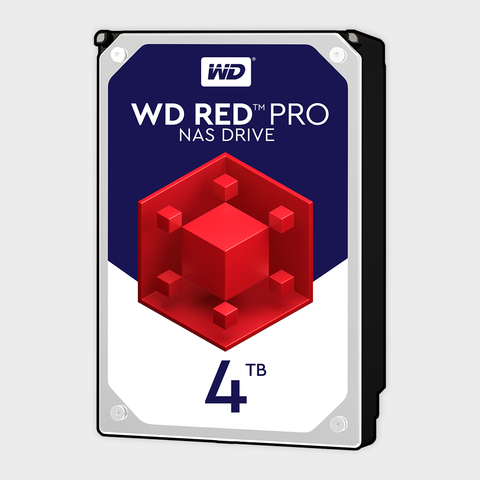 Wd - red pro 4tb internal nas hard drive (wd4002ffwx)