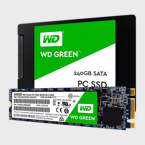 240GB M.2 WD Green (WDS240G2G0B)