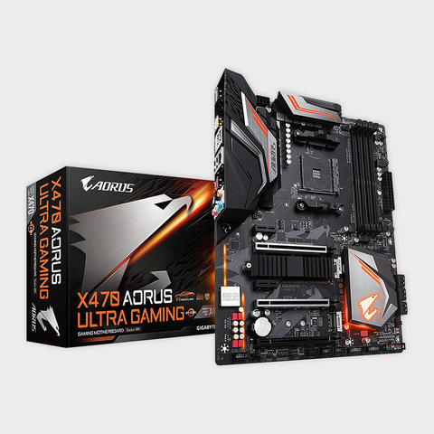 Gigabyte - AMD Socket AM4 X470 AORUS ULTRA GAMING Motherboard