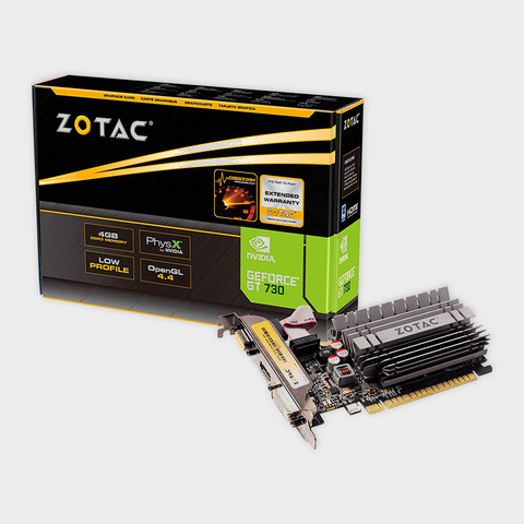 ZOTAC - GeForce GT 730 4GB Zone Edition Graphics Card