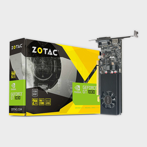 ZOTAC - GeForce® GT 1030 2GB GDDR5 Low Profile Graphics Card