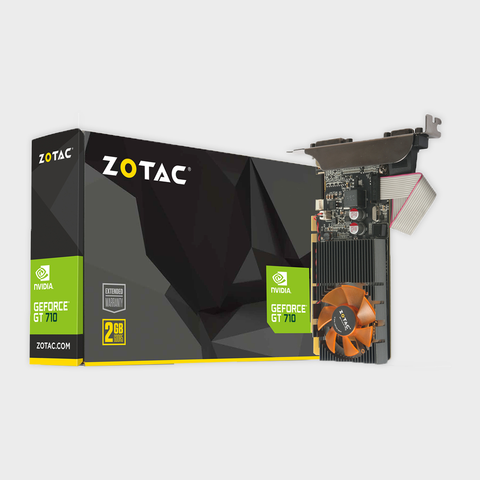 ZOTAC - GeForce GT 710 2GB DDR3 Graphics Card