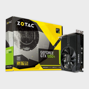Zotac - GeForce GTX 1050 Ti Mini OC 4GB Graphics Card
