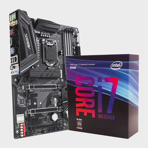 Motherboard - Z370 ULTRA GAMING WIFI & Processor - INTEL I7-8700K