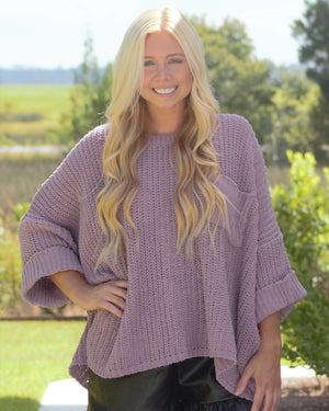Olivia Sweater, Blush