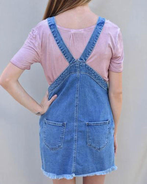 Overall Dress  | Cayman & Co. Boutique