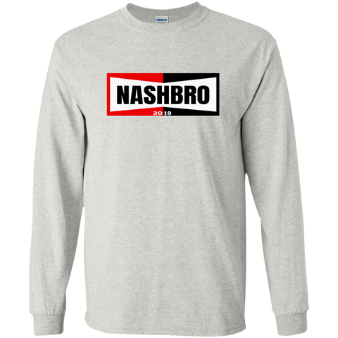 NashBro 19 Long Sleeve Light - G240 Gildan LS Ultra Cotton T-Shirt