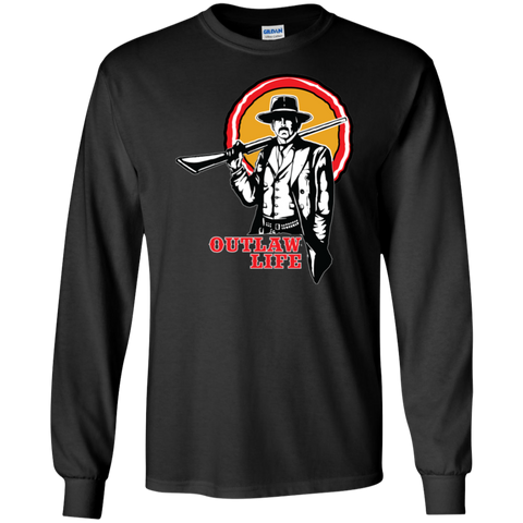 RDR2 Inspired T Shirt - Outlaw Life Long Sleeve