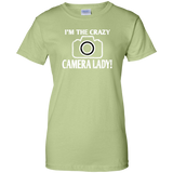 I'm the crazy camera lady! T-shirt