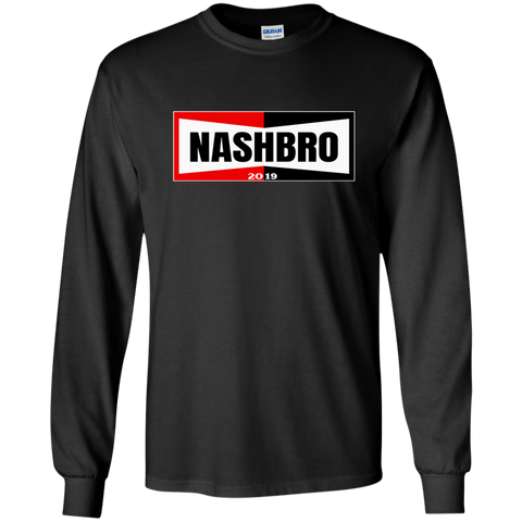 Nashbro Dark Long Sleeve - G240 Gildan LS Ultra Cotton T-Shirt