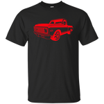 C10 70s Red Side Angle - G200 Gildan Ultra Cotton T-Shirt