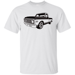 C10 72 Side Angle - G200 Gildan Ultra Cotton T-Shirt