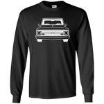Chevy C10 67-68 Long Sleeve - G240 Gildan LS Ultra Cotton T-Shirt