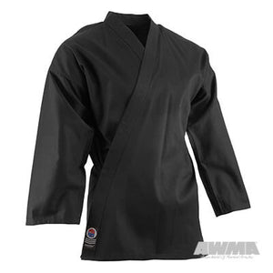 Karate Gi Top - Black - 6oz