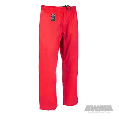 Karate Pants - Elastic Drawstring - 8oz - with Pocket