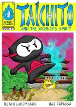 Load image into Gallery viewer, Book 1 - Taichito and the Warrior's Spirit - Signed by the Senseis