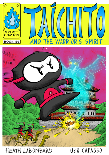 Taichito and the Warrior's Spirit - Signed by the Senseis