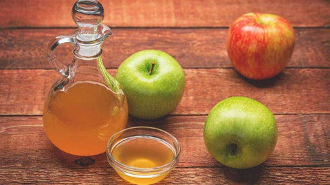 Apple cider vinegar no poo method