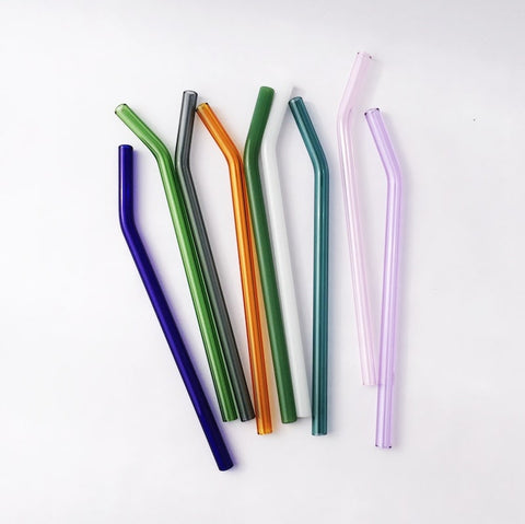 Reusable straws borosilicate glass by strawesome