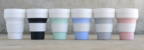 Stojo reusable coffee cups