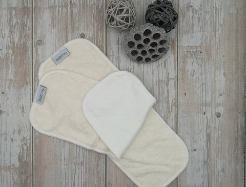 My cotton drawer reusable cloth nappy insert bamboo