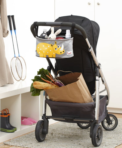 3 sprouts stroller organiser for pushchairs and buggies