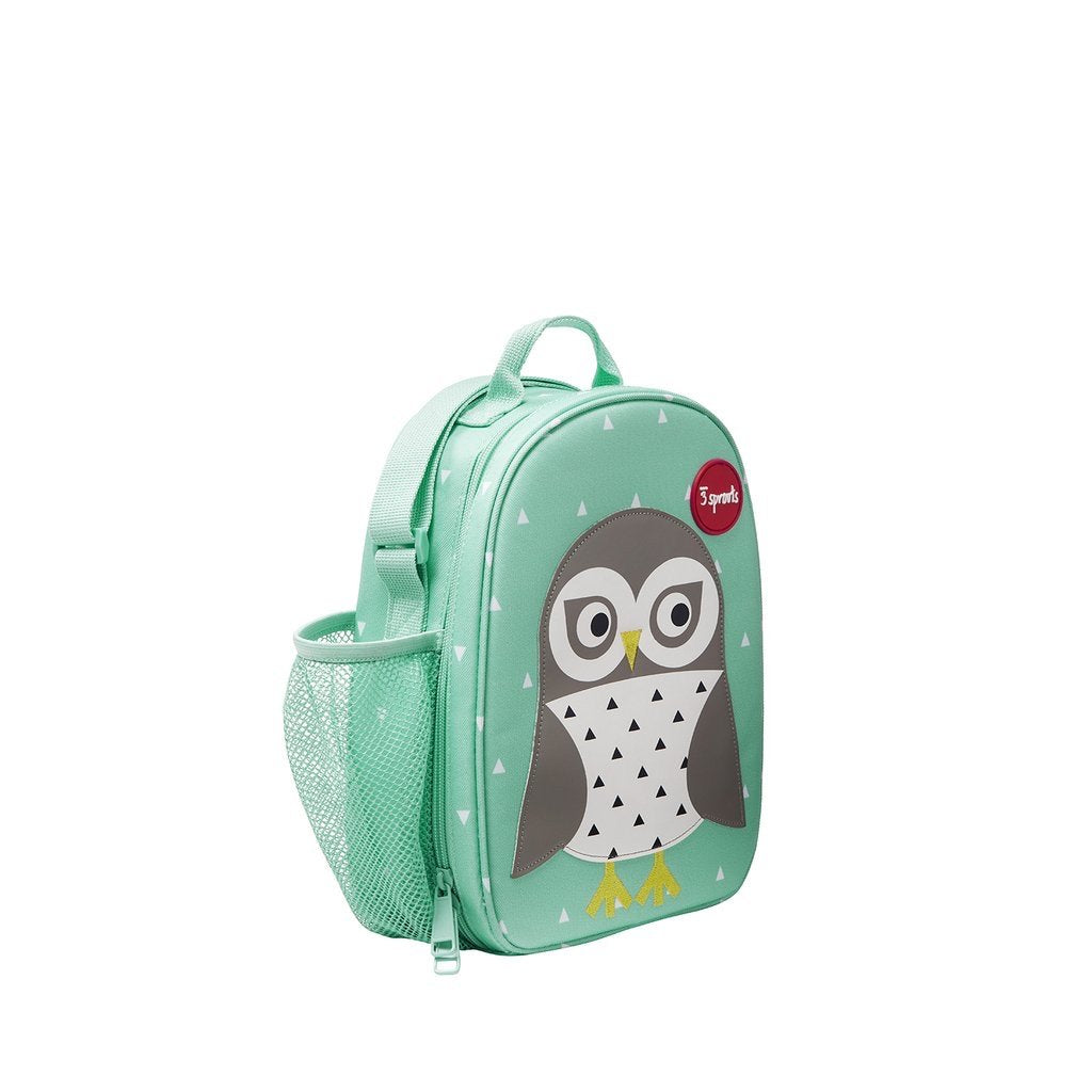 3 Sprouts Lunch Bag - Owl