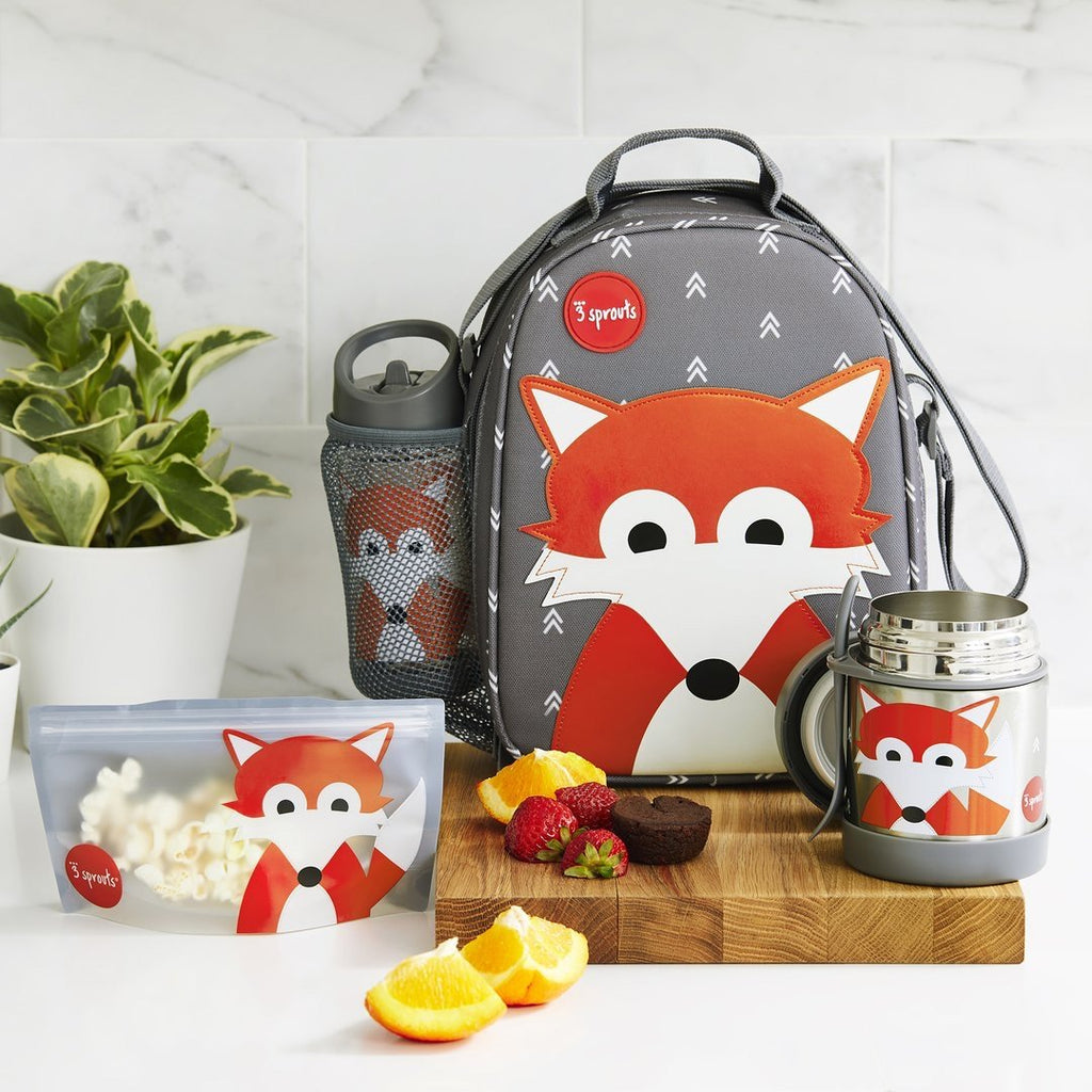3 Sprouts Sandwich Bag - Fox (2 pack)
