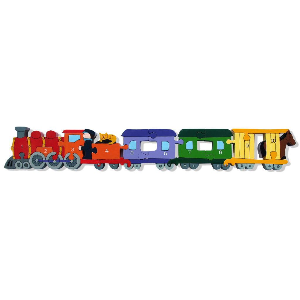 Alphabet Jigsaws - Number Train