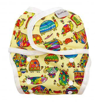 Avo and Cado Cloth Nappy Cover with Velcro