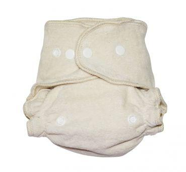 Avo and Cado Cotton Fitted Nappy Size 2