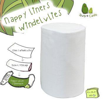 Avo and Cado - Disposable Nappy Liners - Bamboo